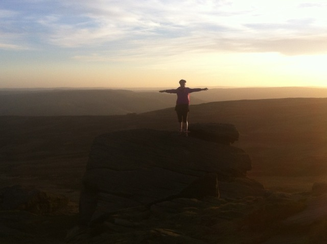 Nic on top of the world