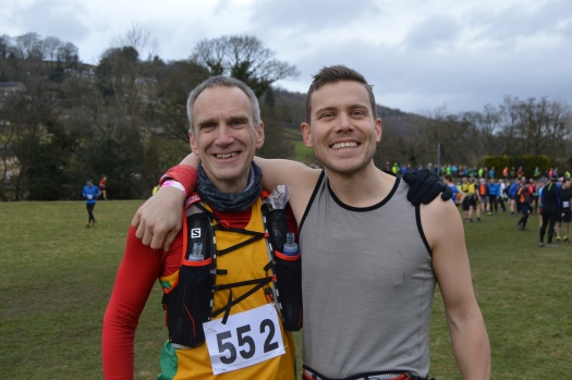 Catching up with @houndkirk pre-race